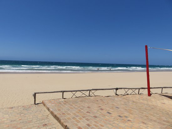 Inhambane, Mozambique: View from the bar and pool