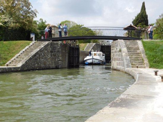 Trebes, Frankrike: ecluse de Trèbes-Canal du Midi
