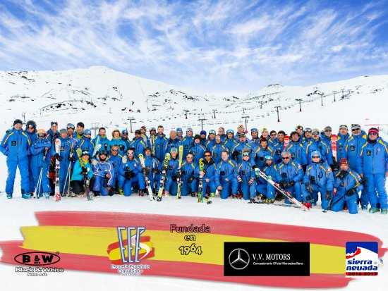 Monachil, Spain: Equipo EEE temporada 2016-2017