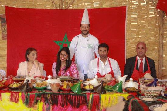 Cooking class with chef tarik picture of atelier de for Atelier cuisine marrakech