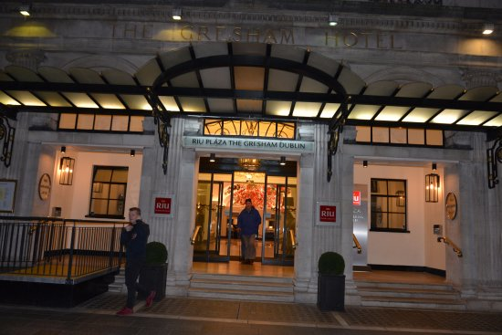 Hotel Riu Plaza The Gresham Dublin: INGRESSO HOTEL