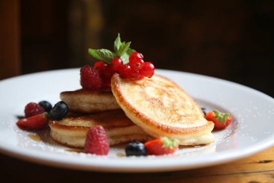 Dungarvan, Irland: Breakfast pancakes
