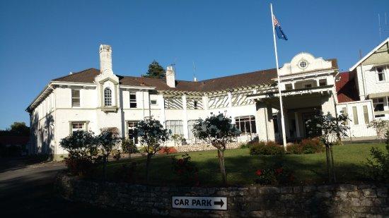 Waitomo Caves Hotel: just a quaint hotel