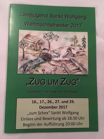 Sankt Wolfgang, Germany: Theater Programm im Dezember 2017