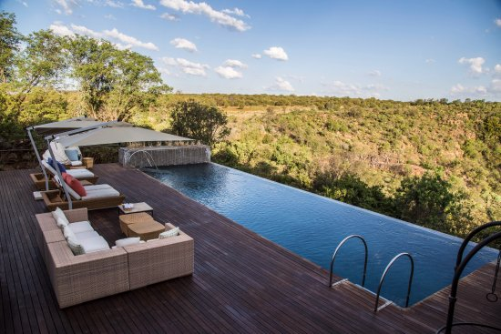 Magaliesburg, South Africa: Main lodge pool