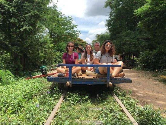 Siem Reap, Camboya: Samnang Adventure Tour