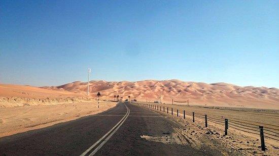 Liwa Oasis, De forente arabiske emirater: almost there :)