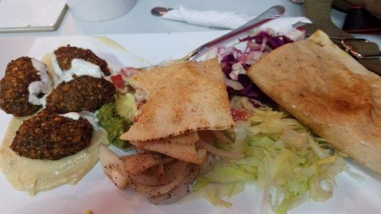 Istanbul Doner Kabab: The falafal