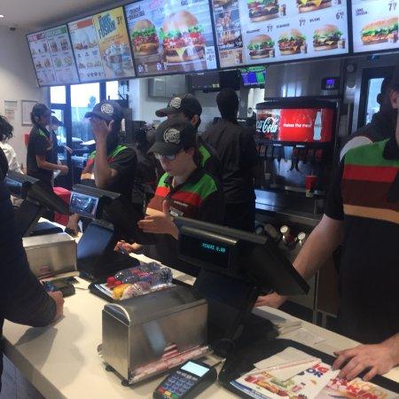Саран, Франция: Burger King