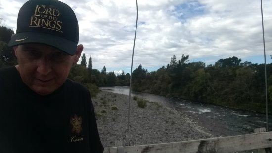 Turangi, Nouvelle-Zélande : nice selfie spot