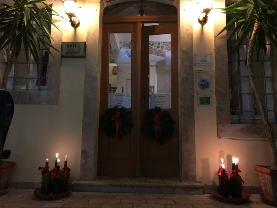 Pothia, Greece: 1st of Dec. 2017