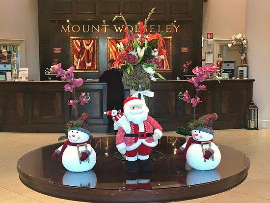 Tullow, Irlanda: Christmas Lobby