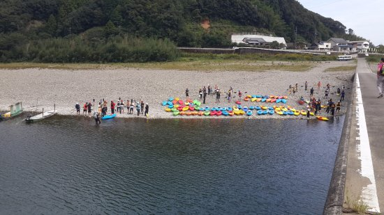 Kochi Prefecture, Japan: canoe school