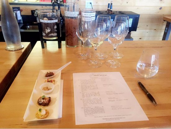 Stonewall, TX: delicious food & wine pairing