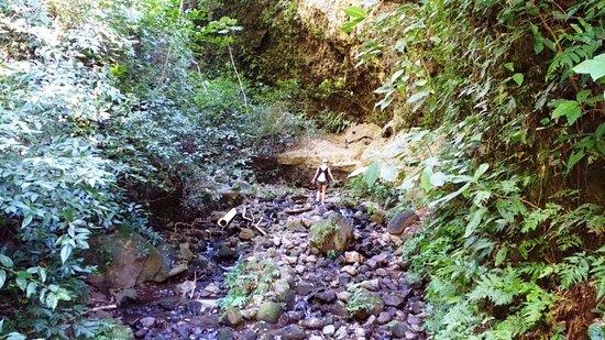 San Ramon, Nicaragua: start of gorge