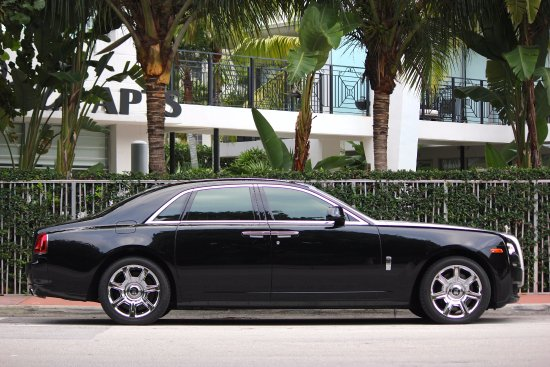 Rolls Royce Ghosts Are Available For Hourly Daily Weekly And