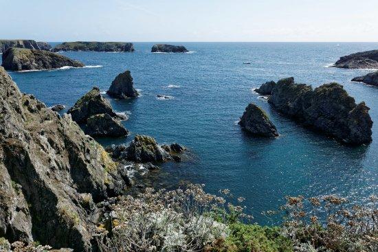 Bangor, France: Une vue depuis le sentier côtier