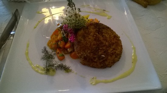 Marnand, França: Plat végétarien délicieux
