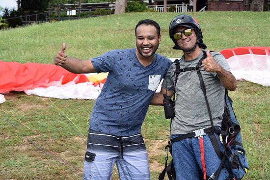 Puerto Caldera, Costa Rica: Paragliding
