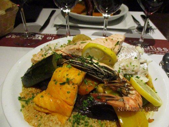 Le Matisse : couscous poisson.