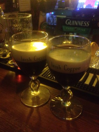 Ponte di Piave, Italy: Irish Coffee per noi!