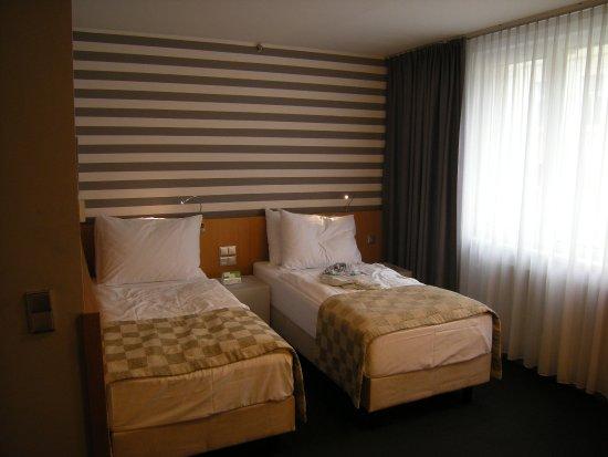 Holiday Inn Vienna City: Sleeping area