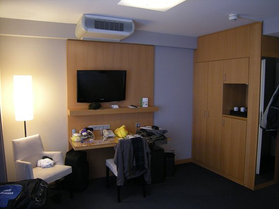 Holiday Inn Vienna City: Desk area