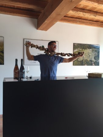 PDC Cartizze: The master winemaker Pietro!