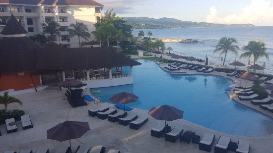 Secrets Wild Orchid Montego Bay: View from room 2338