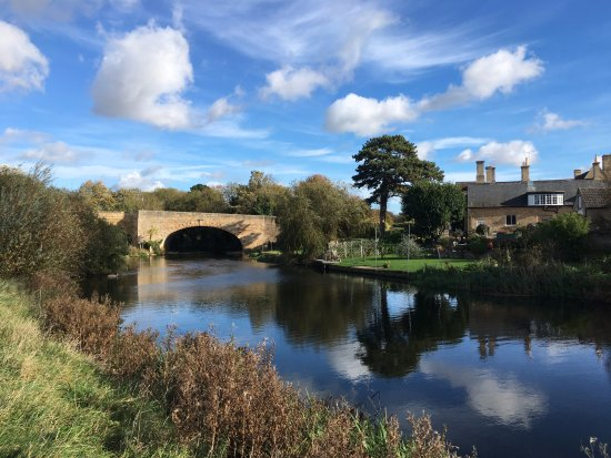 Wansford - charming honey-stoned village to explore