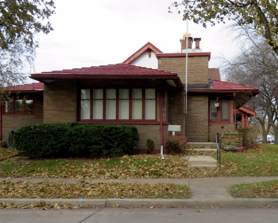 Historic Wright Home - Picture of Frank Lloyd Wright American System ...