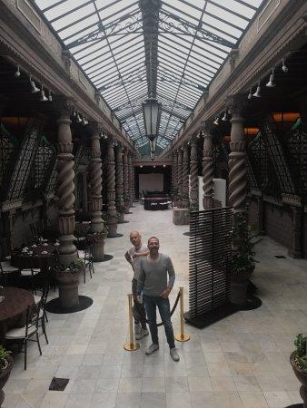 Hotel Geneve Ciudad de Mexico: This is the dining room!