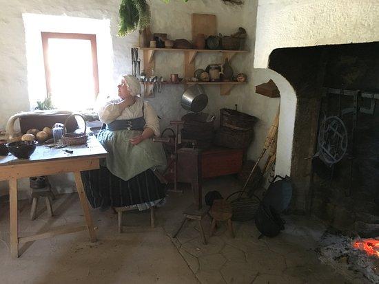 Staunton, فيرجينيا: German farm kitchen