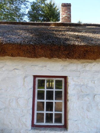 Staunton, VA: Thatched roof of blacksmith shop