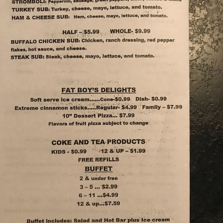 Montgomery, IN: Menu