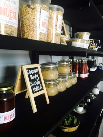 Mele, Vanuatu: House made deli products using local ingredients