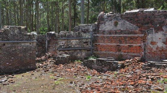 Port Macquarie, Australia: ruins