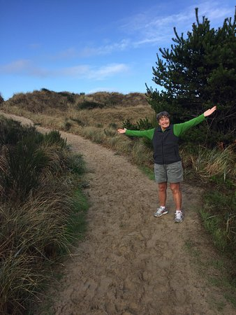 South Jetty County Park: Great trails to the beach