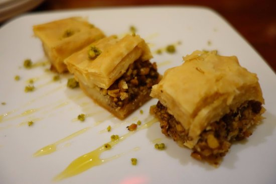 West Hartford, CT: terrible baklava - only had one bite :(