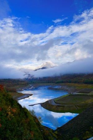Myoko, Japonya: 乙見湖:ほぼ水枯れ!