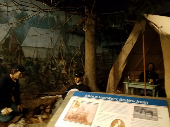 Frederick, MD: museum exhibit