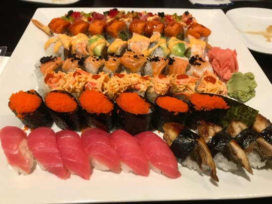 Edgewater, Nueva Jersey: That is Arigato all you can eat ..