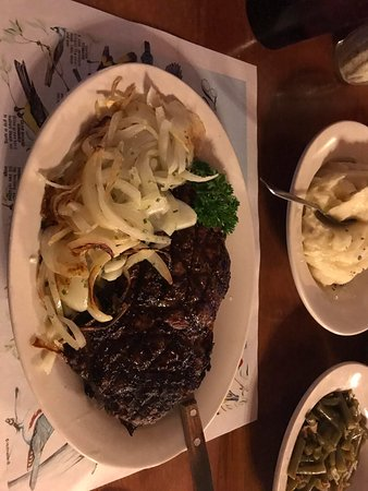 Spencer, IN: 1 pound Ribeye Amazing! Sorry the pic is side ways