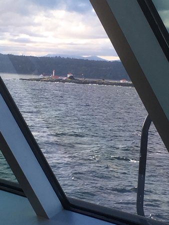 BC Ferries: Front of the ferry view