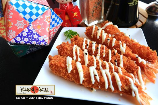 deep fried prawn