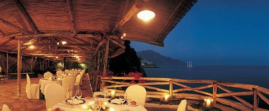 Santa Caterina Hotel: Restaurant