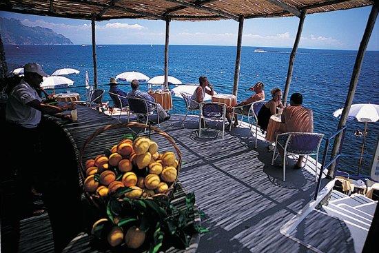 Santa Caterina Hotel: Beach