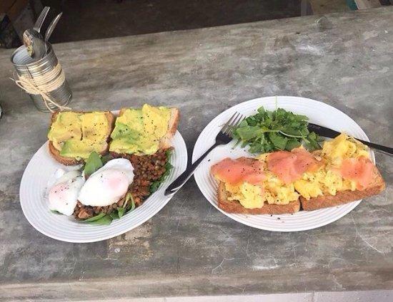 El Cuyo, México: Breakfast of champions! 💪