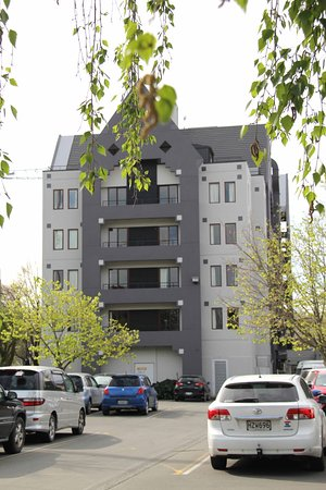 Christchurch YMCA: Great Location