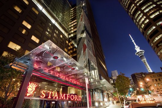 Stamford Plaza Auckland: Exterior